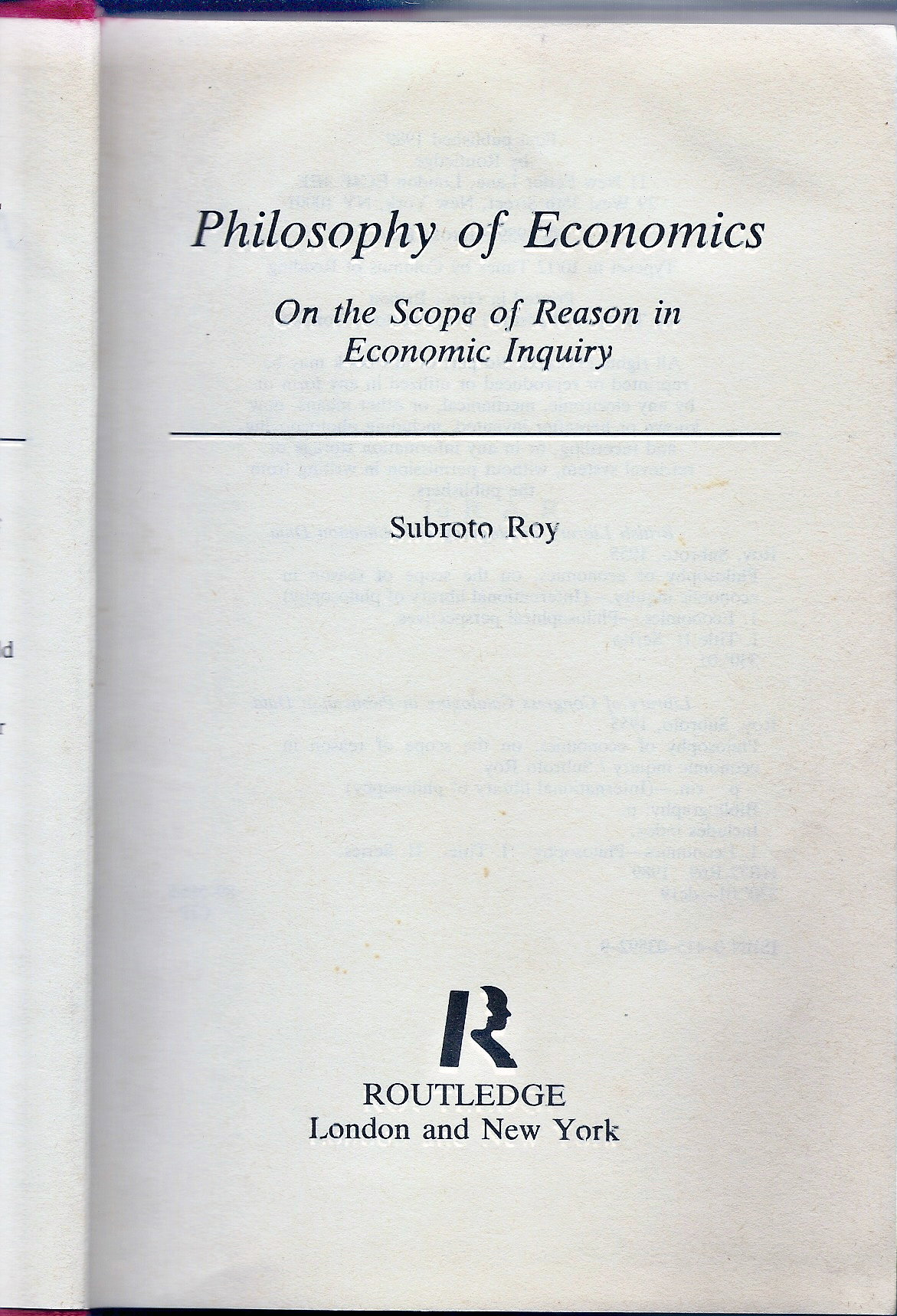 philosophy of economics Philosophy, politics and economics (ppe) is a bachelor's degree programme  with a long-standing tradition in the english-speaking academic arena, and is.