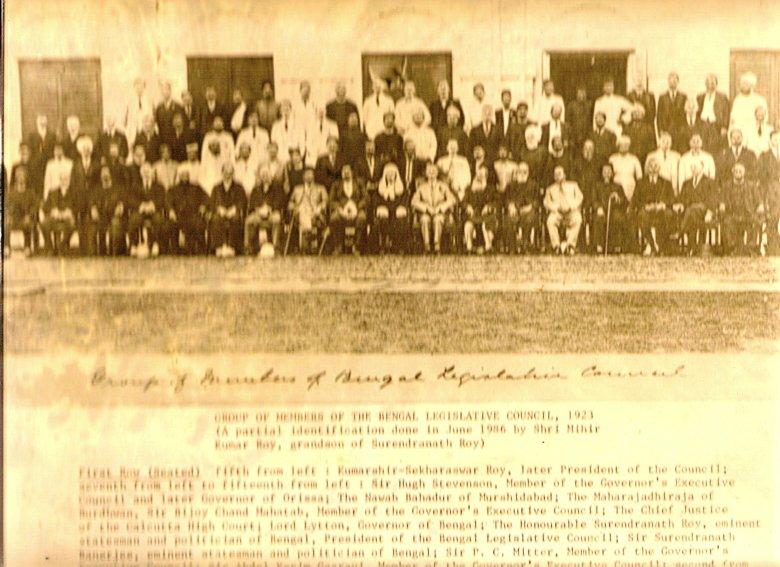 Bengal Legislative Council 1923
