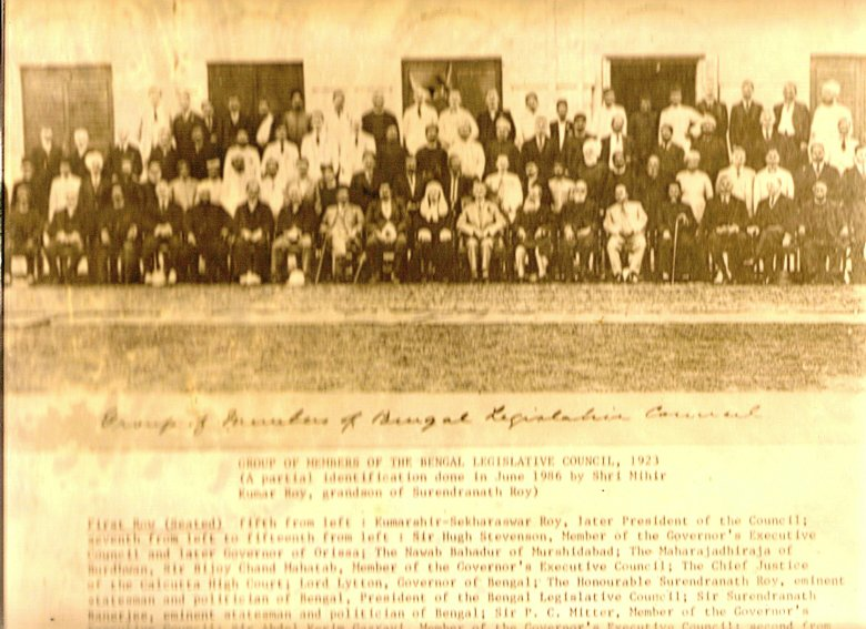 Bengal Legislative Council 1923